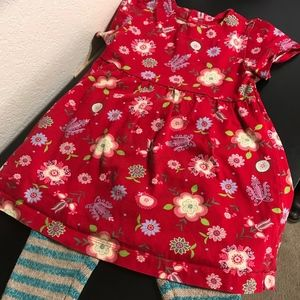 Hanna Andersson cotton dress size 90